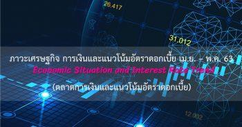 ภาวะเศรษฐกิจ การเงินและแนวโน้มอัตราดอกเบี้ย ประจำเดือนเมษายน - พฤษภาคม 2563